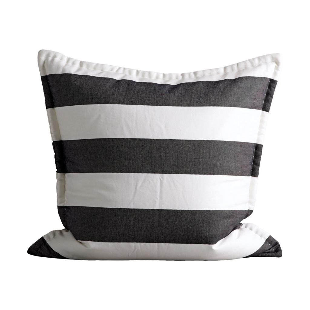 MEGABET black/white 60x60 kuddfodral
