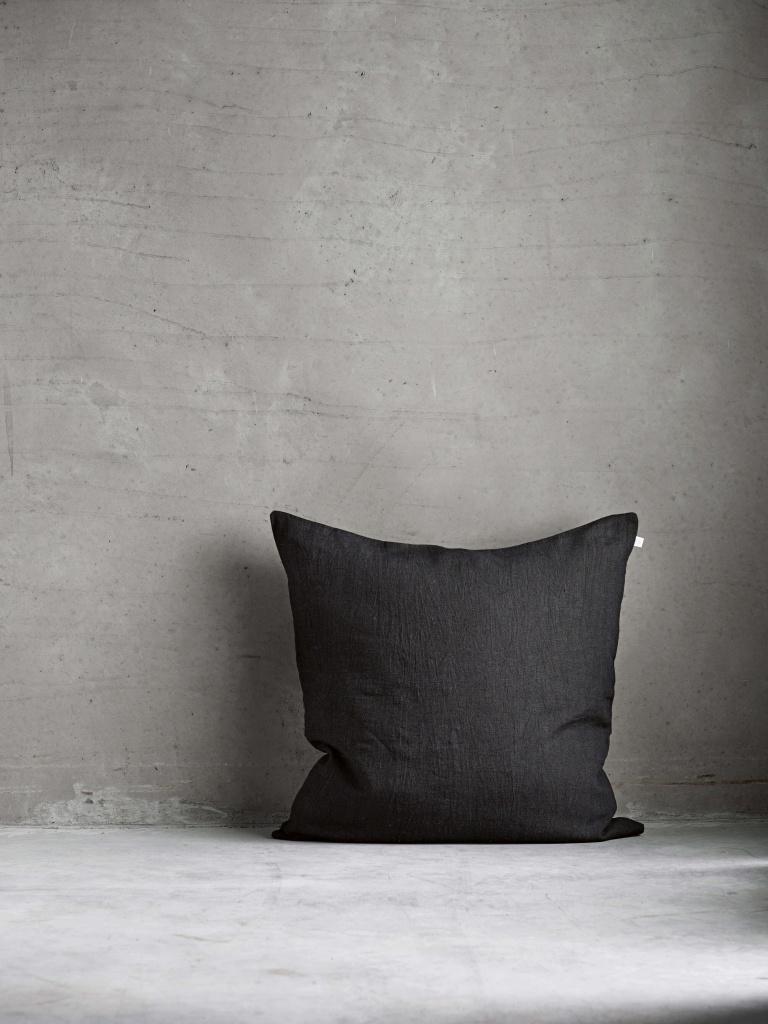 MOONLIN black 50x50 kuddfodral