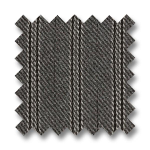 Boston Matstol Ben-Svart Weasly Stripe Black