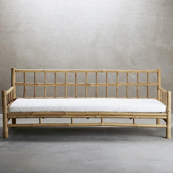BAMCOUCH white loungesoffa