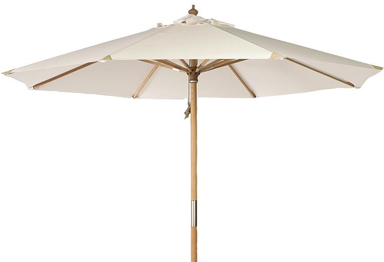 Summer parasoll Ø3m natur