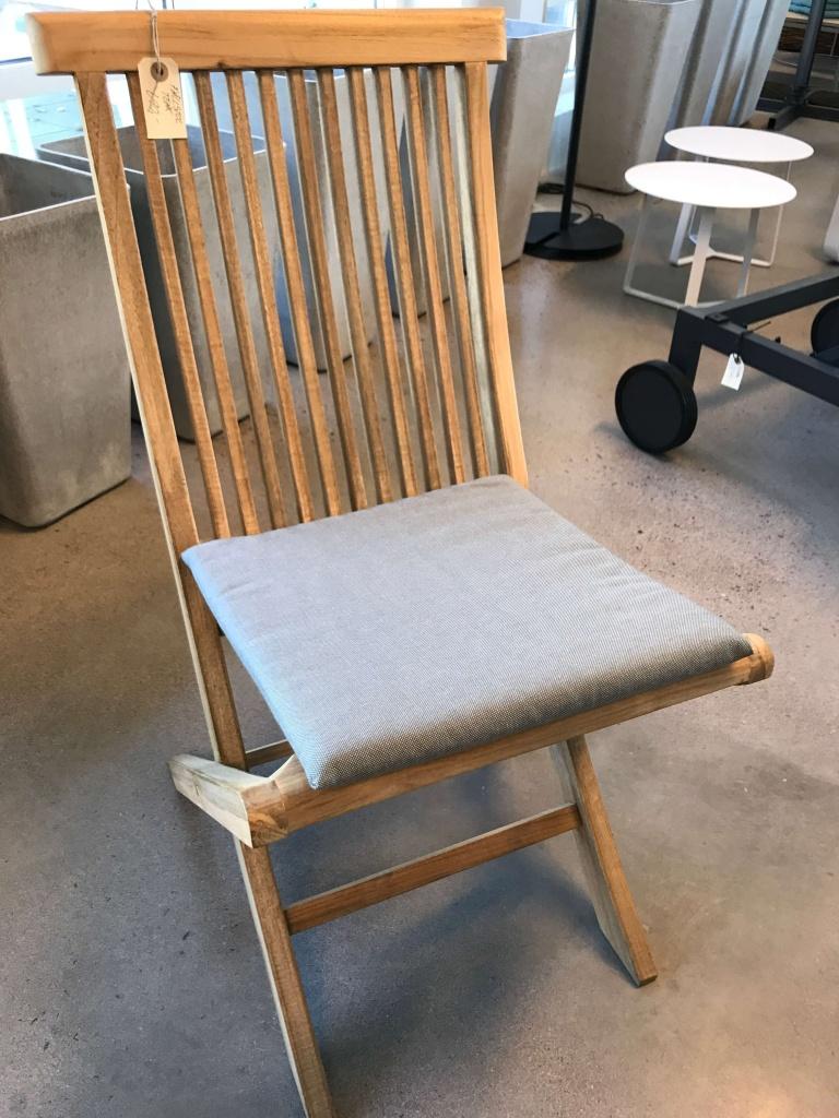 Turin sittdyna 38x38x2,5 grå
