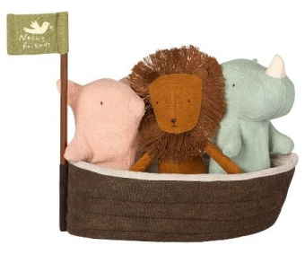 Noah`s Ark with 3 mini animals
