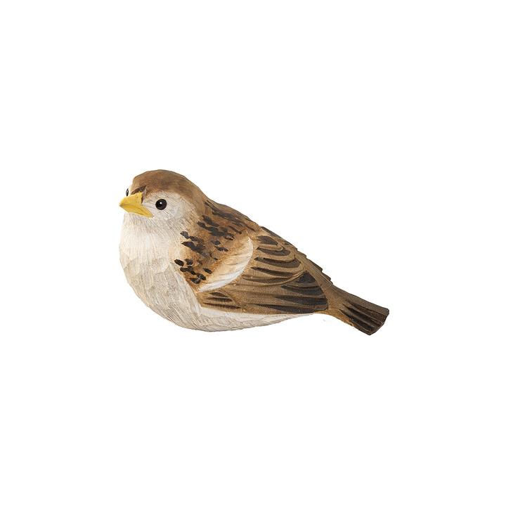 DecoBird Gråsparv Unge