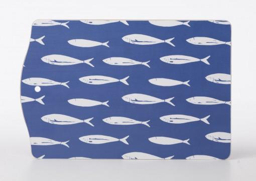 Skärbräda Fisk blå