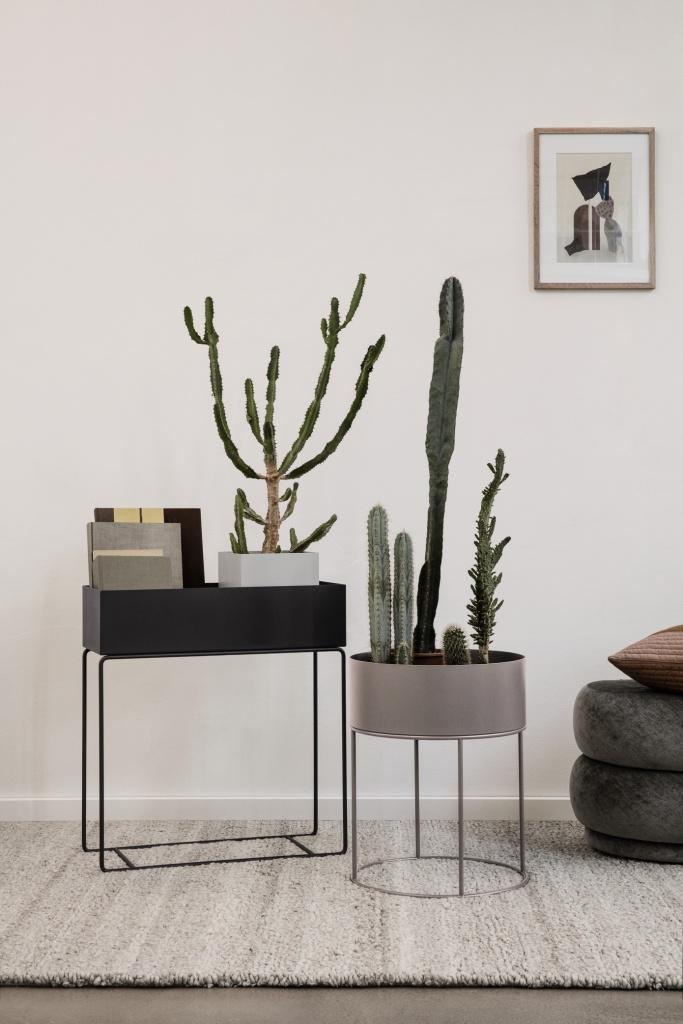 Ferm Living Plant Box Insats - Kruka Black