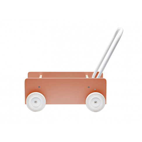Kids Concept Lära-gå-vagn Aprikos