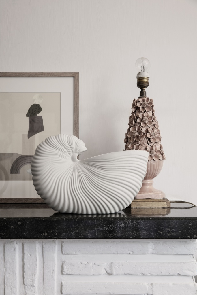 Ferm Living Shell Pot OffWhite