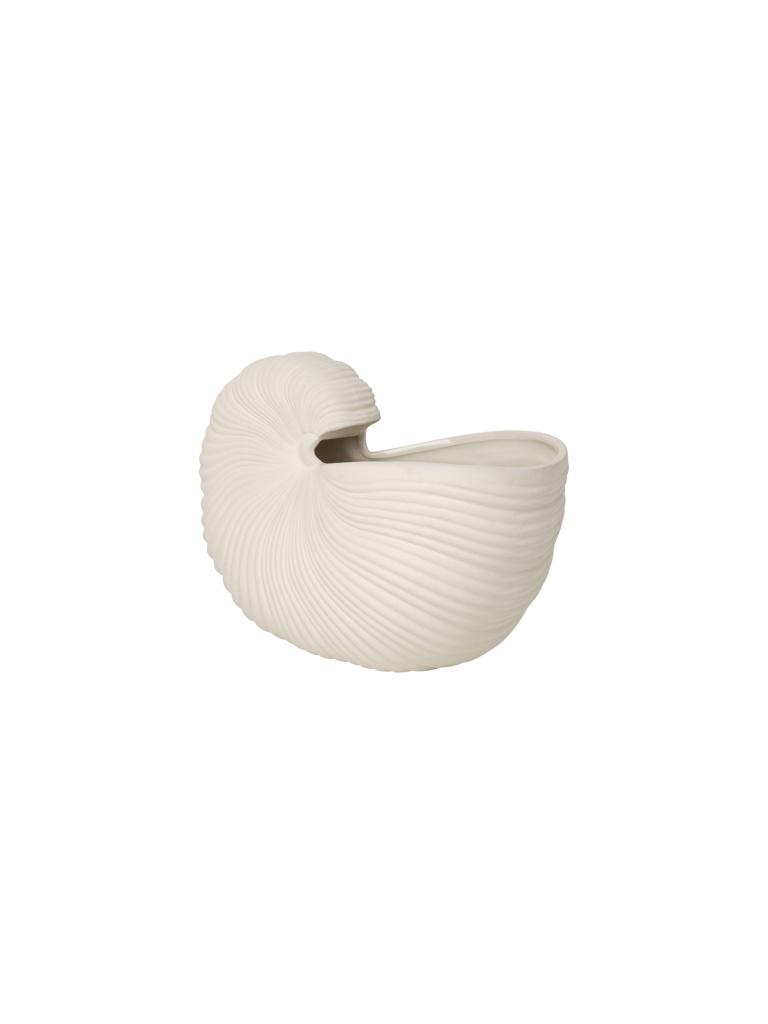 Ferm Living Shell Pot OffWhite