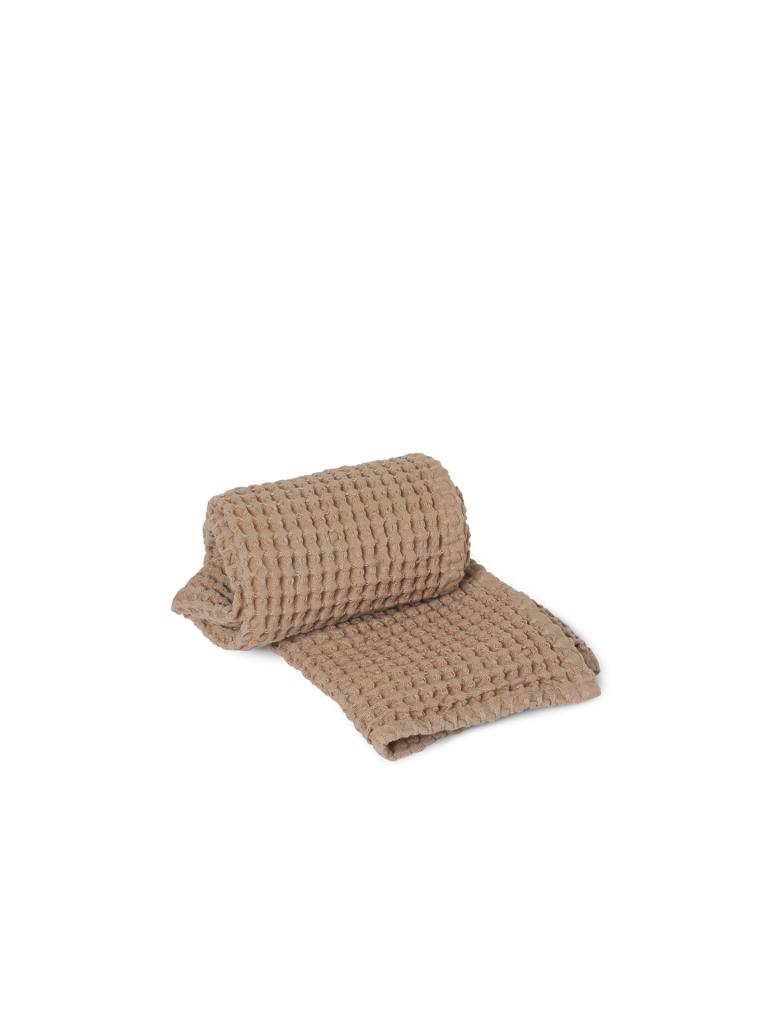Ferm Living Organic Hand Towel 50x100cm Tan
