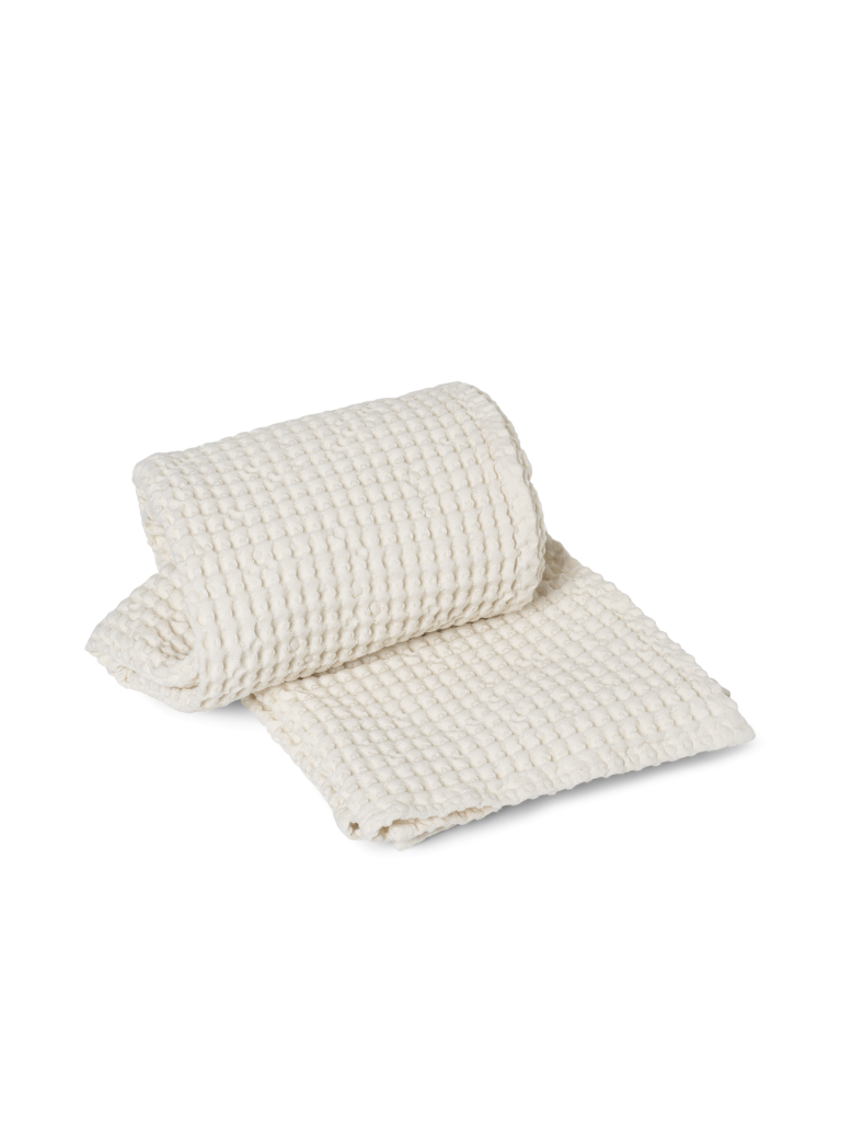 Ferm Living Organic Bath Towel 70x140 Off White