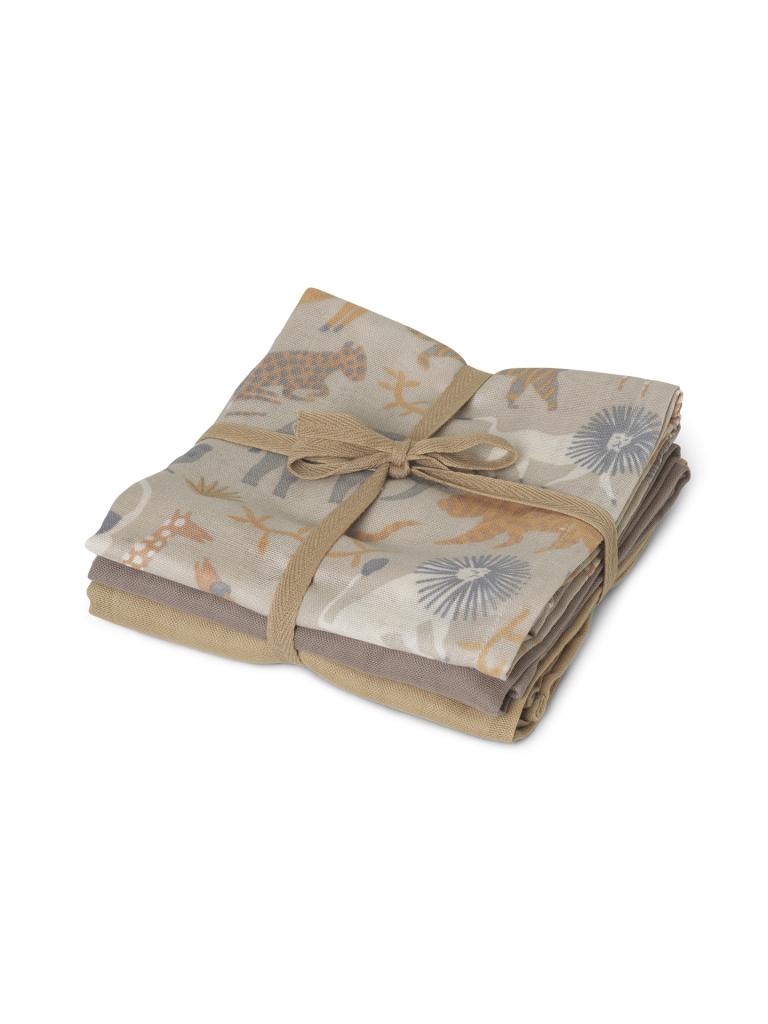 Ferm Living Safari Muslin 3-pack