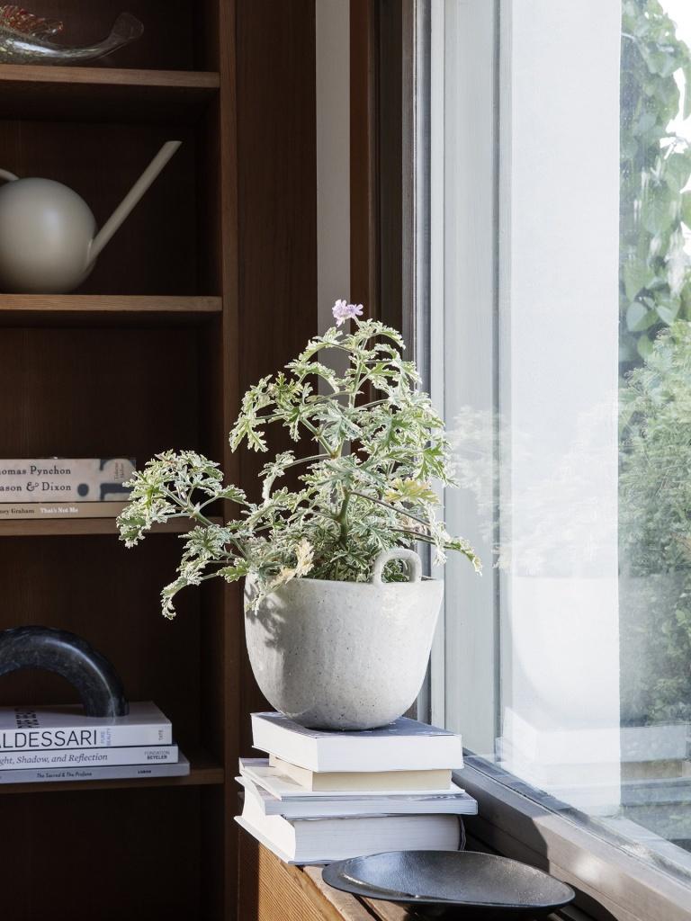 Ferm Living Speckle Pot Off White