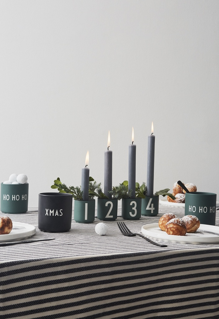 Design Letters Espresso Cups 4-pack Green