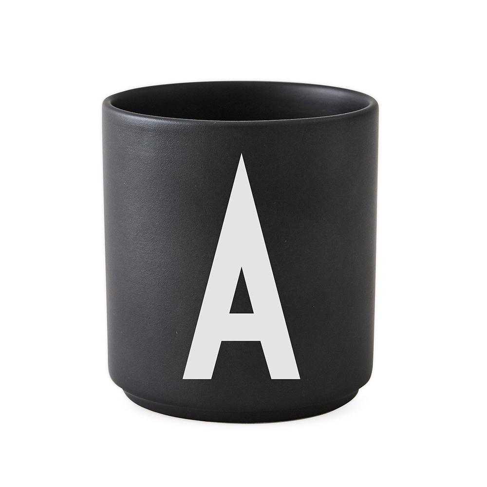 Design Letters Porslin Mugg A Svart