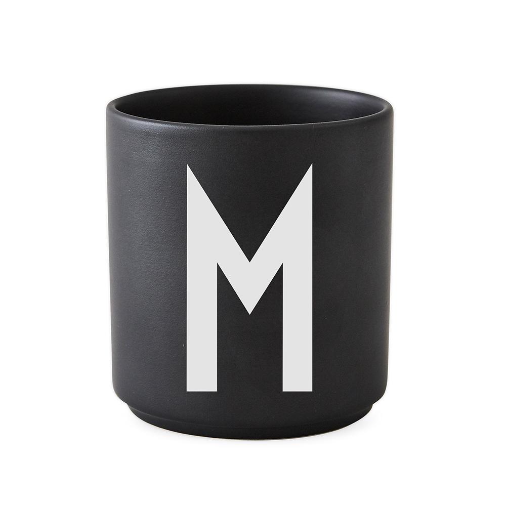 Design Letters Porslin Mugg M Svart