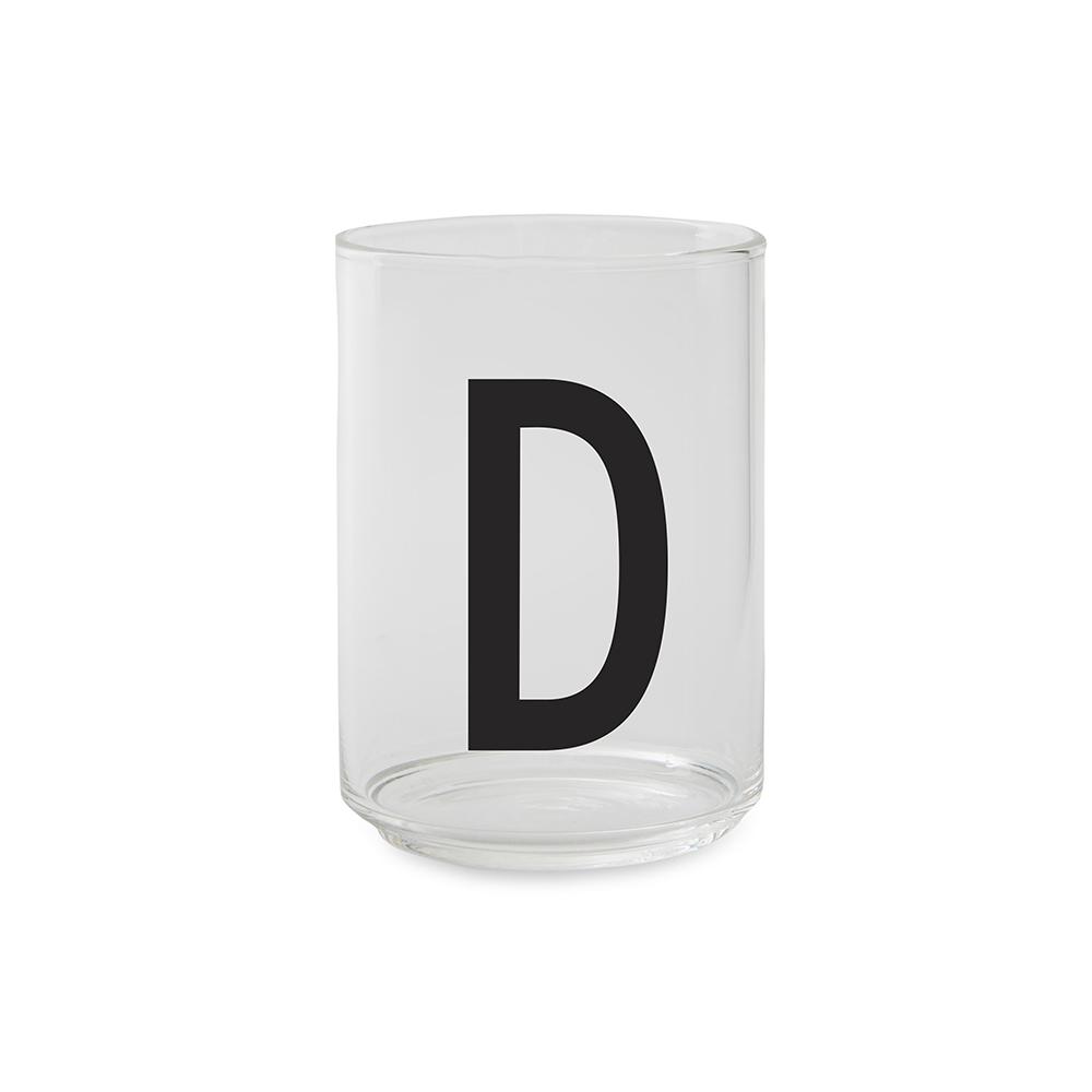 Design Letters Dricksglas D