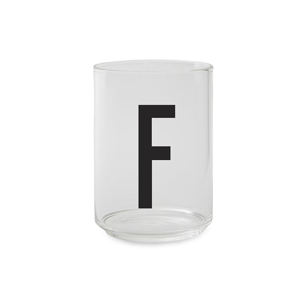 Design Letters Dricksglas F