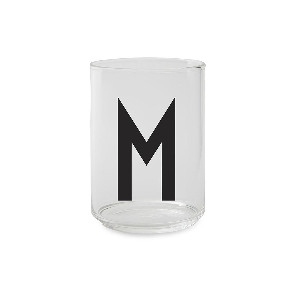 Design Letters Dricksglas M