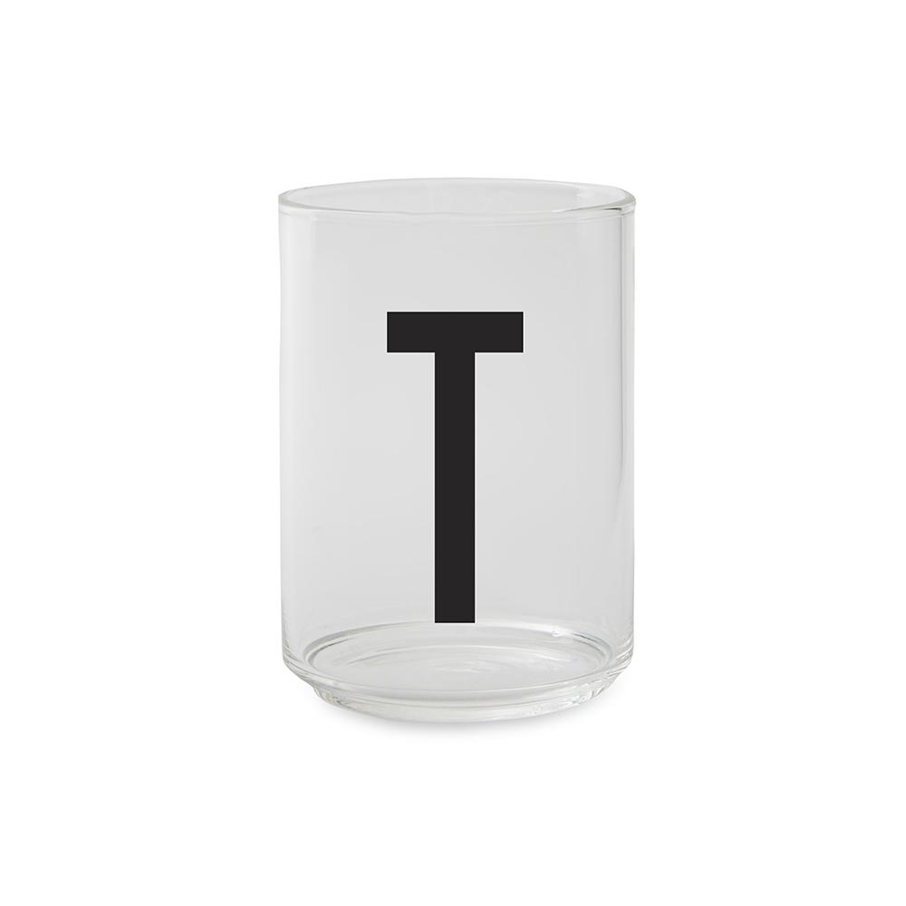 Design Letters Dricksglas T