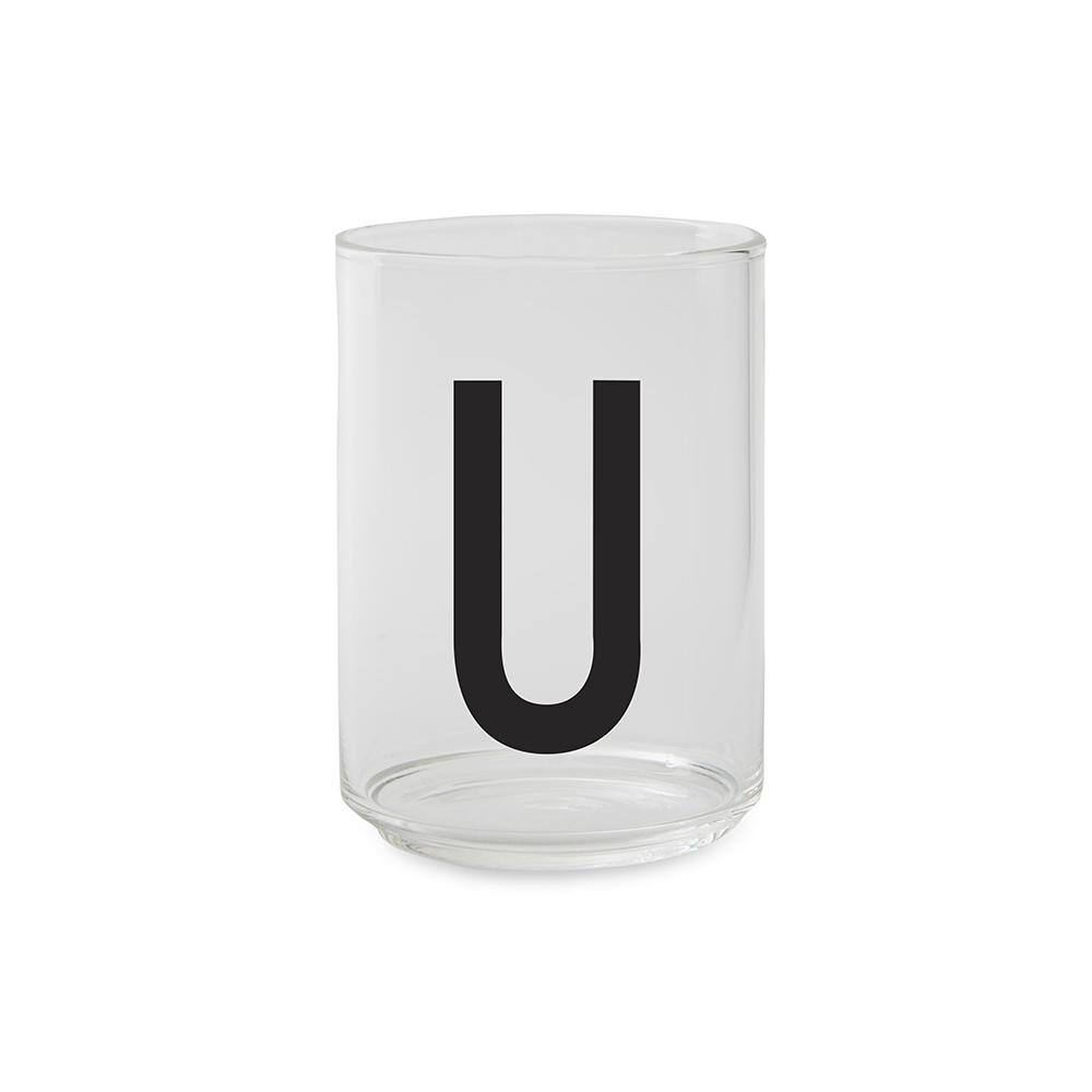 Design Letters Dricksglas U