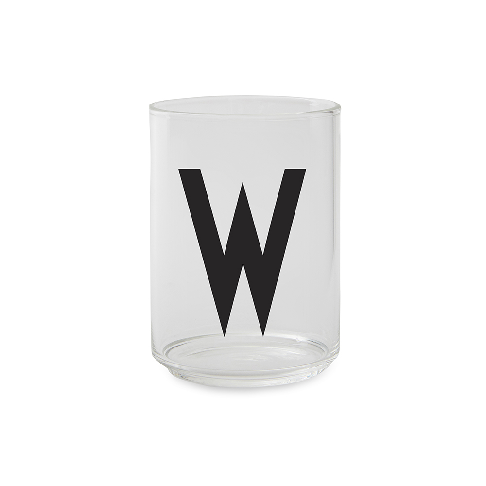 Design Letters Dricksglas W