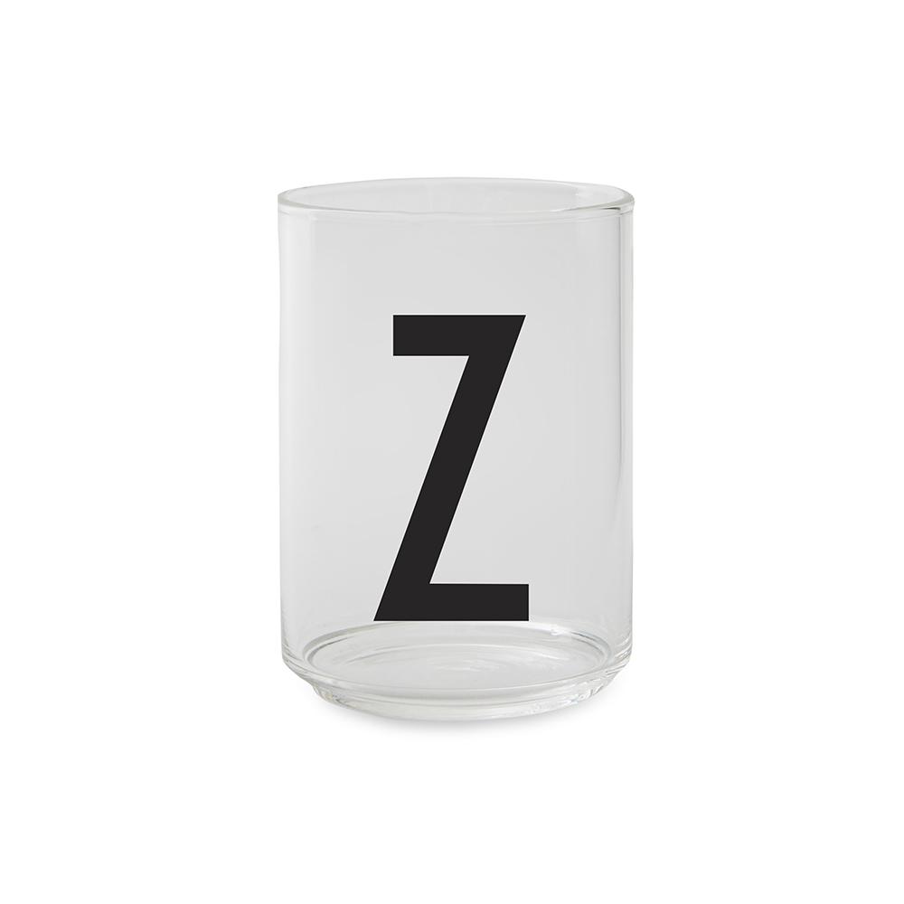 Design Letters Dricksglas Z