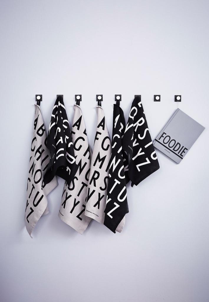design Letters Kökshandduk Classic 2-pack Grey