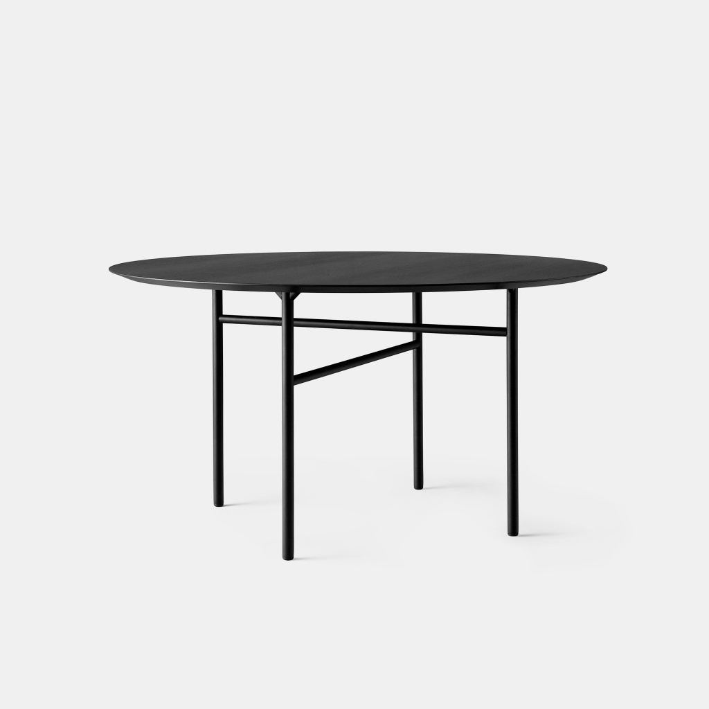 Menu Snaregade Table  D120 cm Black
