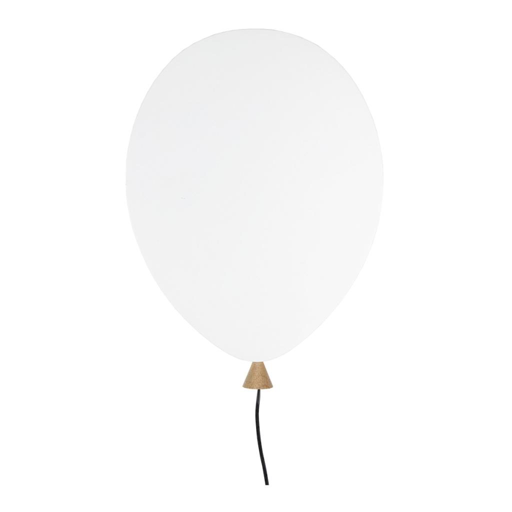 Globen Vägglampa Balloon Vit