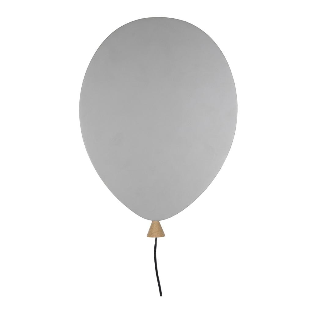 Globen Vägglampa Balloon Grå