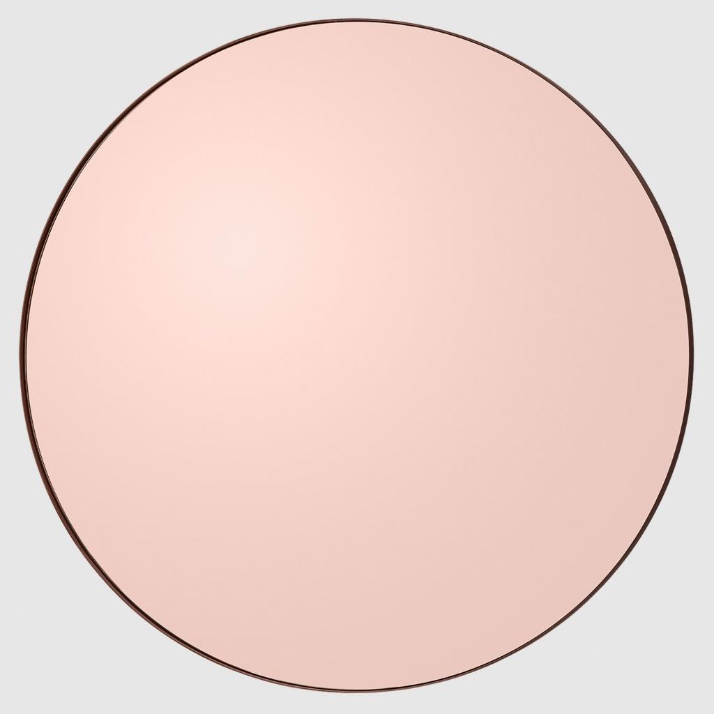 Aytm Circum Round Mirror Rose