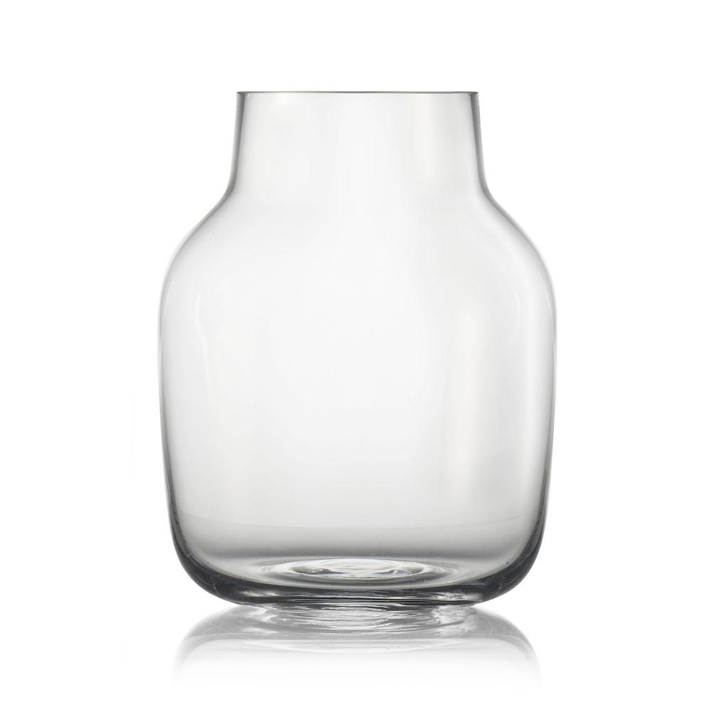 Muuto Silent Vase 15 cm Clear