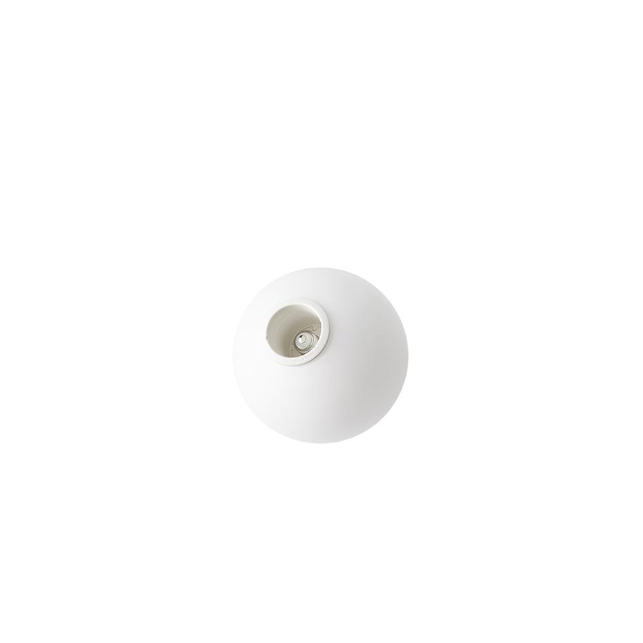 Menu TR Bulb TR Bulb Bordslampa Grå marmor med Matt Opalglas