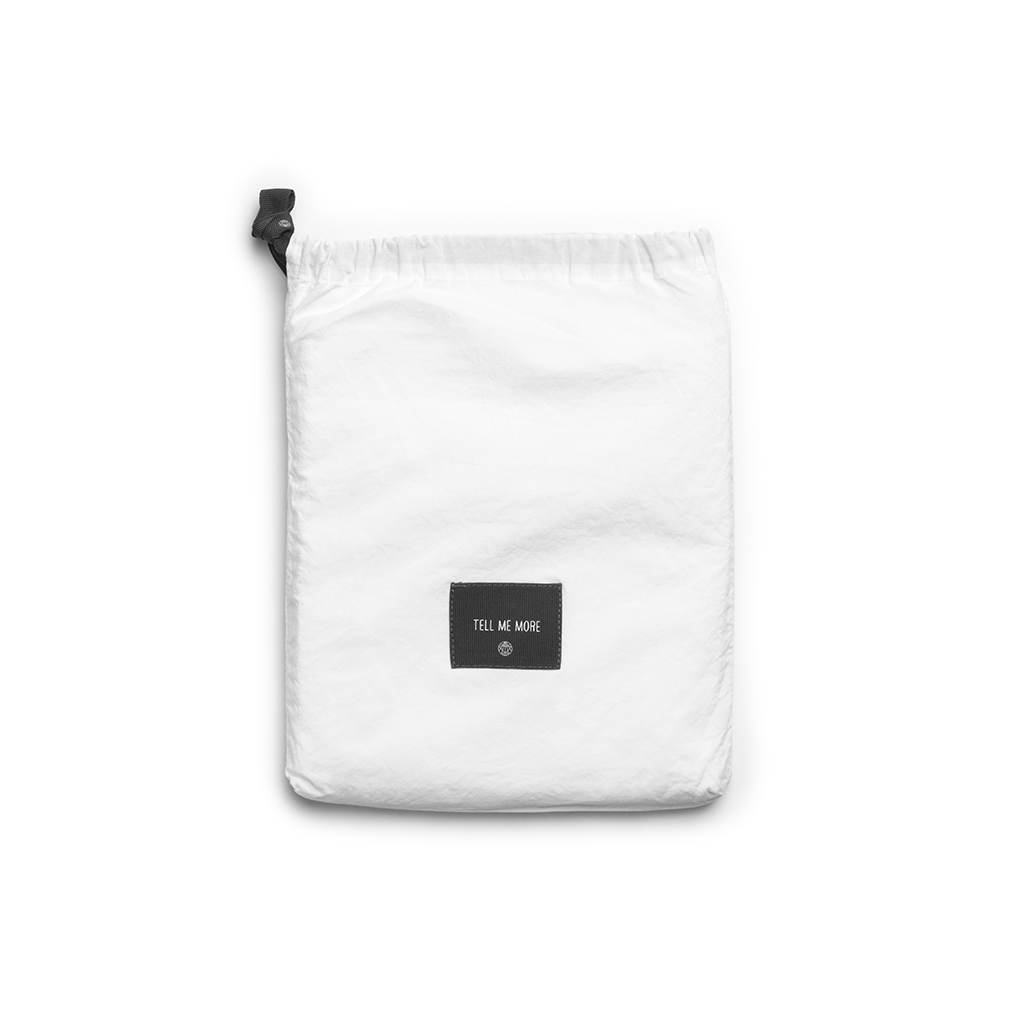 Tell Me More Stentvättad Bomull Örngott 50x70 cm White 2-pack