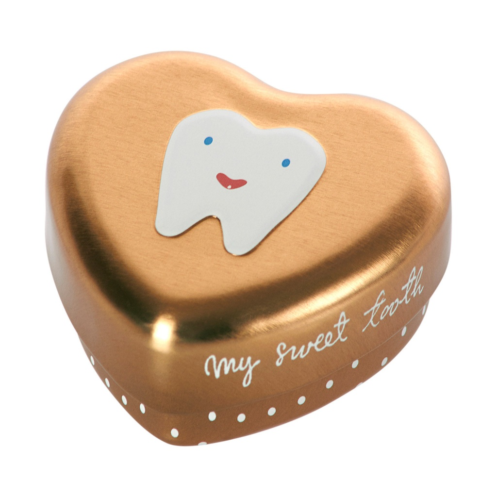 Maileg My Tooth Box Gold