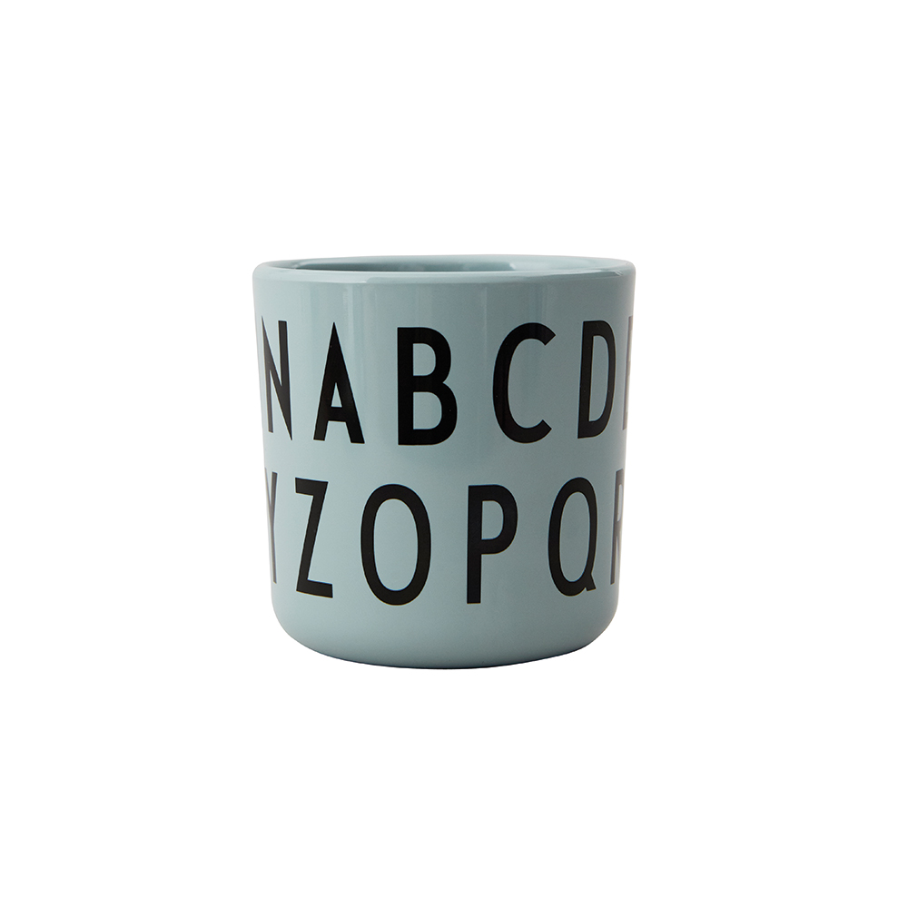 Design Letters Eat & Learn ABC Cup Melamine Green