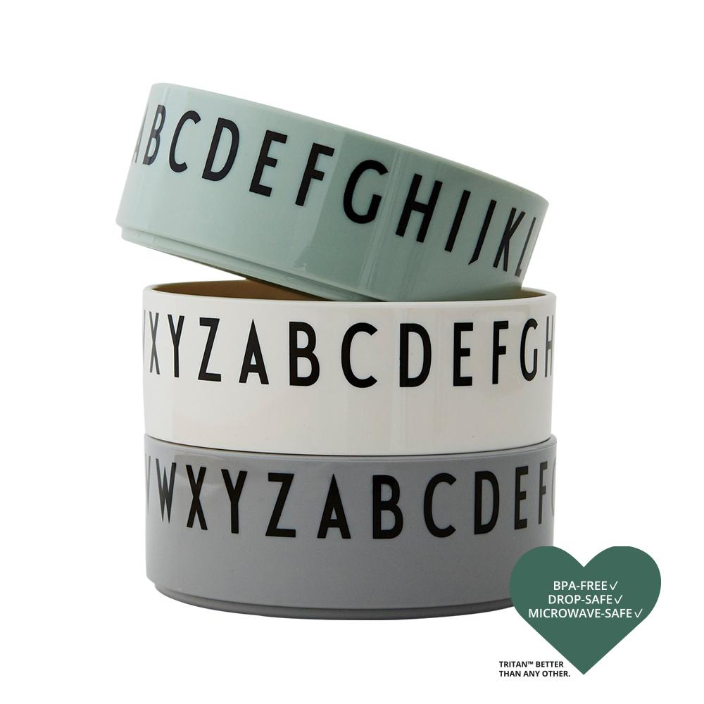 Design Letters Skålar 3-pack GREEN