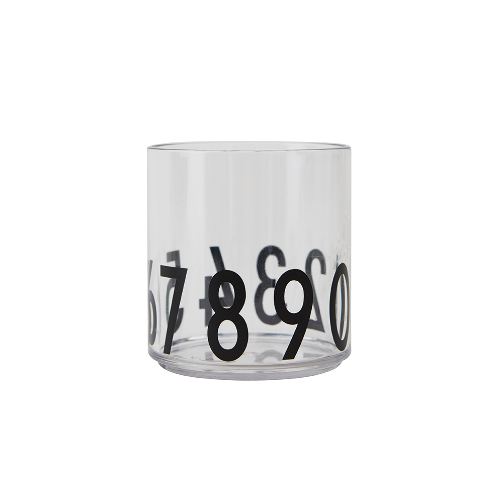 Design Letters Kids Drinking Glass Special Edition 123