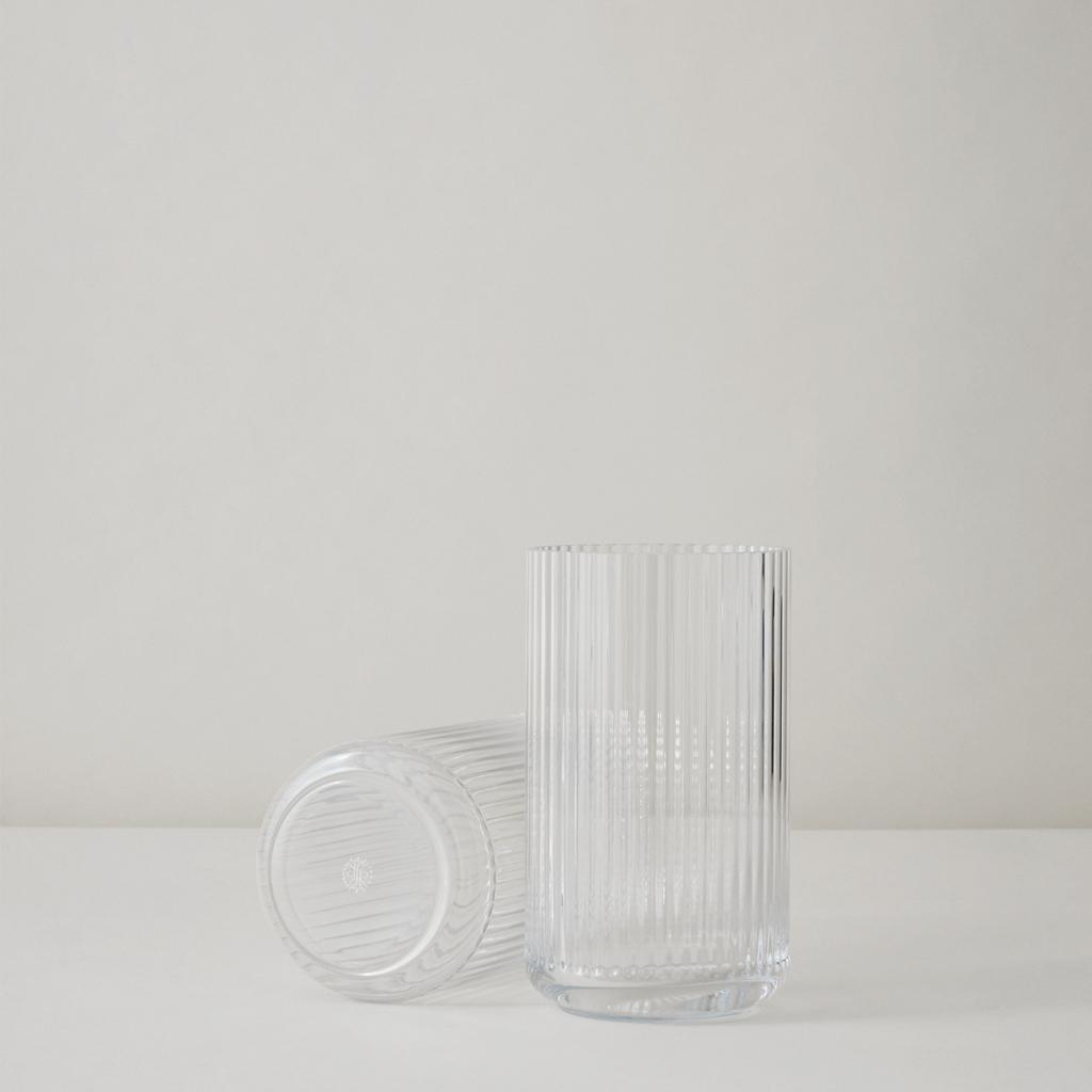 Lyngby Vas Klar munblåst glas 20 cm