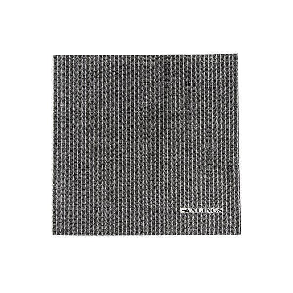 Axlings Pappservett Kritstreck svart 40x40cm
