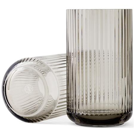 Lyngby Vas Smoke munblåst glas