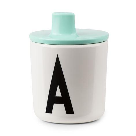 Design Letters Piplock till melamin mugg Mint