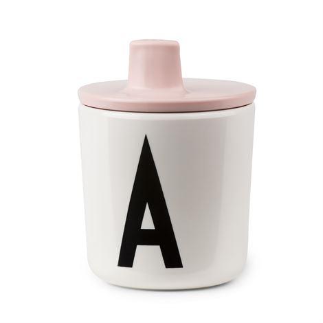Design Letters Piplock till melamin mugg Rosa