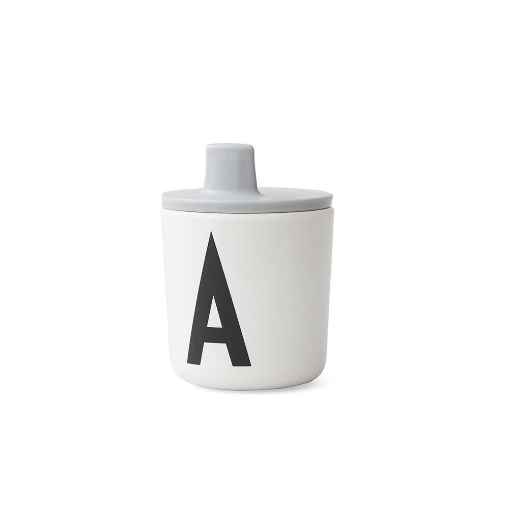 Design Letters Piplock till melamin mugg Grey