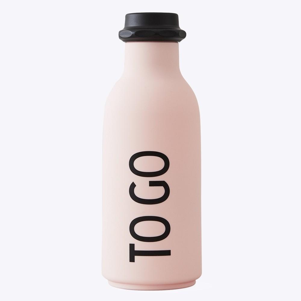 Design Letters Vattenflaska TO GO Pink