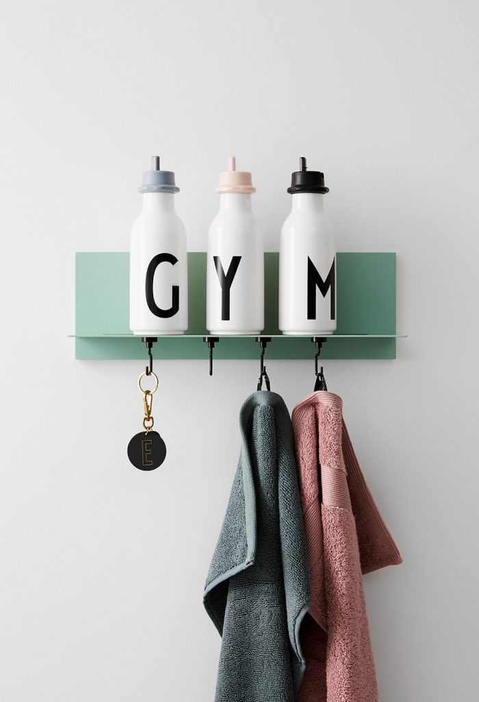 Design Letters Sportlock till flaska Grey