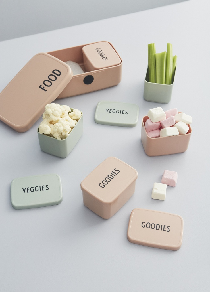 Design Letters Snack Box Nude