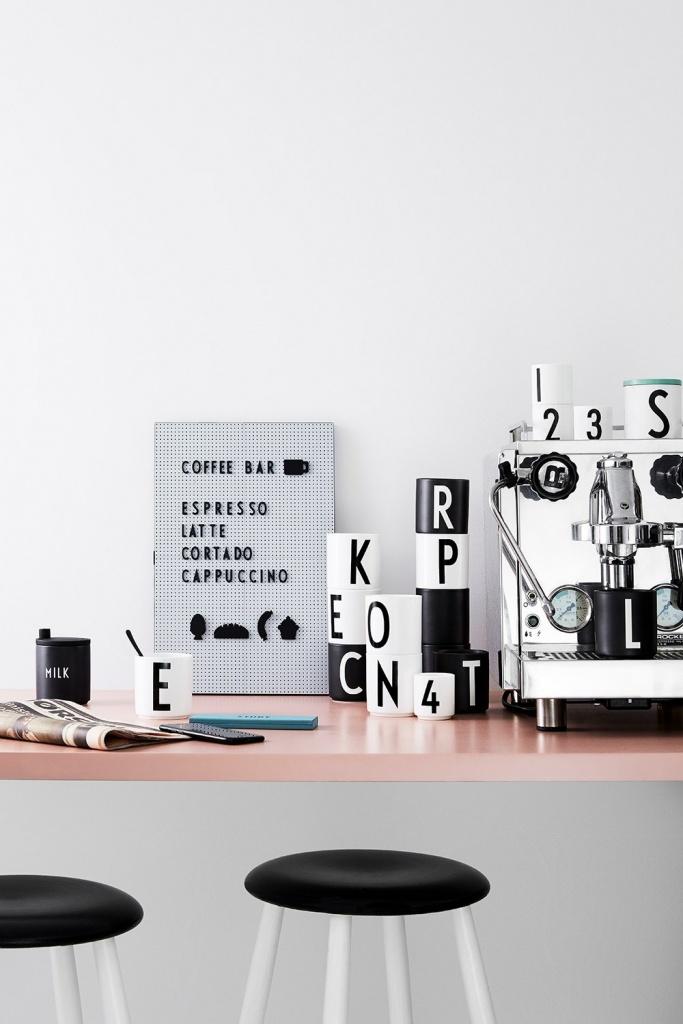 Design Letter Symboler Party Vit