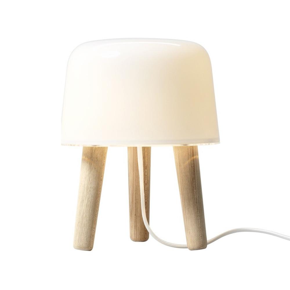 & Tradition Milk Table Lamp Oak Legs